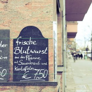 Blutwurst, Berlin, Charlottenburg, Street, Fotograf, Kneipe