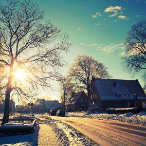 Fotograf Schleswig, Plessenstr., Dom, Weihnachten, Gottesdienst, Winter, Sonne, Schnee