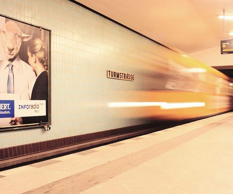 Berlin, U-Bahnhof Turmstraße