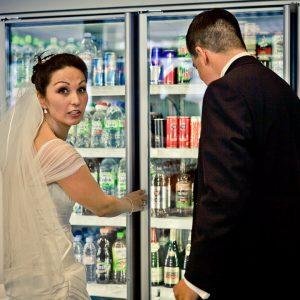Hochzeitsfotograf Berlin, Kudamm 101, Tankstelle, Portrait, Shooting, Braut, Bräutigam, Reinickendorf