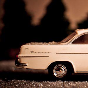 Fotograf Berlin, Preiser, Makro, Weihnachten, Weihnachtsmann, Opel Record