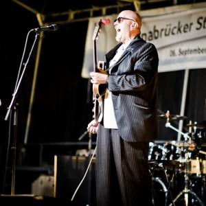 Mierendorffplatz Berlin, Kiezfest 2012, Osnabrück, Marktplatz, Blumen für Herrn Erwin Barth